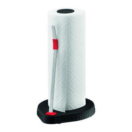 Подставка под бумажные полотенца Bistro, чернаяКухонные держатели и рейлинги<br><br><br>Серия: Bodum Bistro