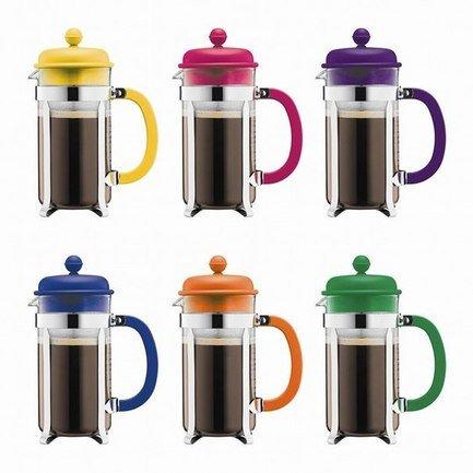 Кофейник с прессом Caffettiera (1 л), цвета в ассортиментеЗаварочные чайники и Кофейники<br><br><br>Серия: Caffettiera