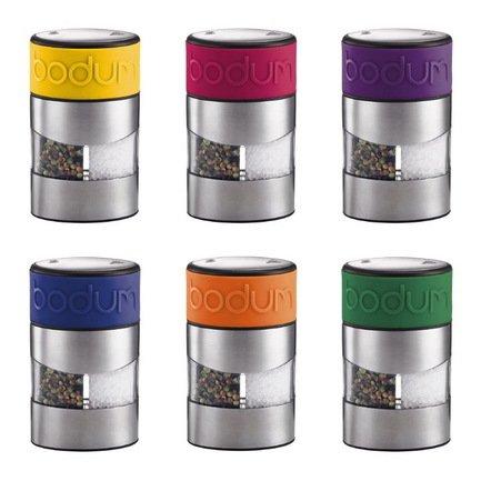 Мельница для соли и перца Twin, цвета в ассортименте
