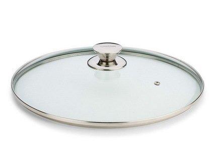 Крышка стеклянная, 28 см, с выпускным клапаном (4904) Valira 59854