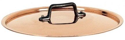 Крышка, 24 см, с чугунной ручкой, классическая медь (6463.24)Крышки<br><br><br>Серия: First Classe