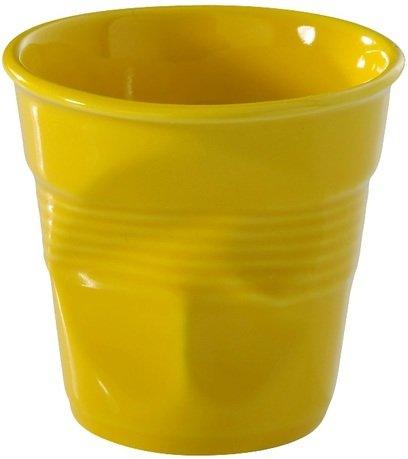 Мятый стакан для кофе (120 мл), желтый (RGO0112-129)