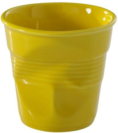 Мятый стакан для эспрессо (80 мл), желтый (RGO0108-191)