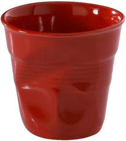 Мятый стакан для кофе (120 мл), красный перец (RGO0112-137)Стаканы<br><br><br>Серия: Froisses