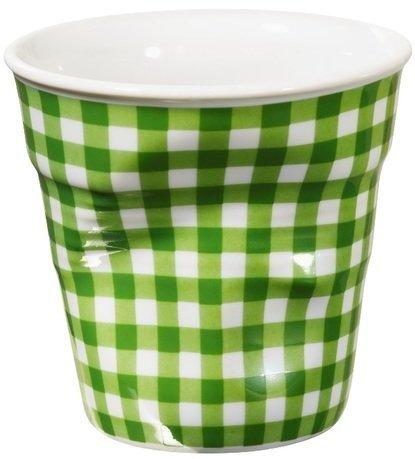 Мятый стакан для эспрессо (80 мл), зеленая клетка (RGO0108-1-1963)