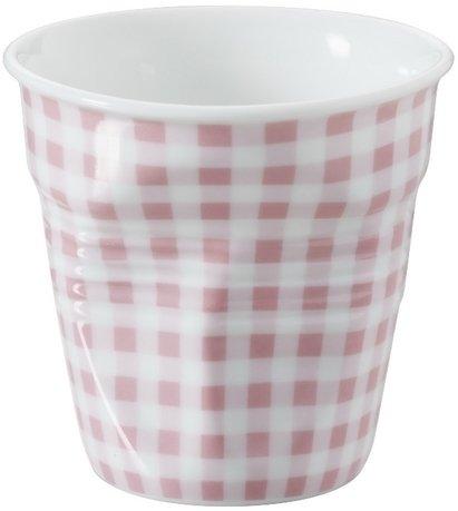 Мятый стакан для эспрессо (80 мл), розовая клетка (RGO0108-1-2050)