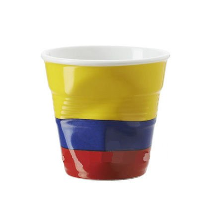 Мятый стакан для эспрессо (80 мл), флаг Колумбии (RGO0108-1-2177)