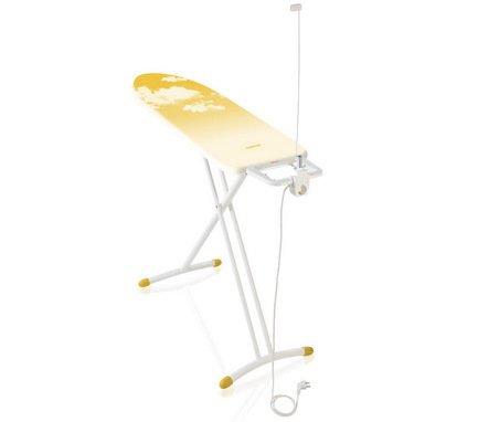 Гладильная доска Airboard Fusion M Plus yellow, 120х38 см, желтая (Lim.Ed.)