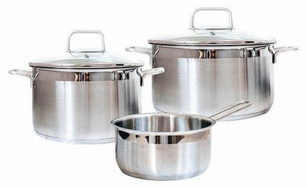 Набор посуды Premium Steel SD SETL3, 3 пр.