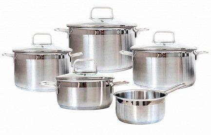Набор посуды Premium Steel SD SETL5, 5 пр.