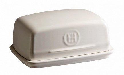Масленка, 16х11х7 см, кремовая Emile Henry 20225