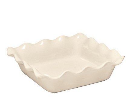 Форма для запекания квадратная (1.7 л), 24х24 см, кремовая