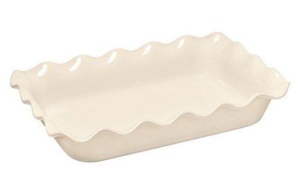 Форма для запекания прямоугольная (3.17 л), 36х26 см, кремовая