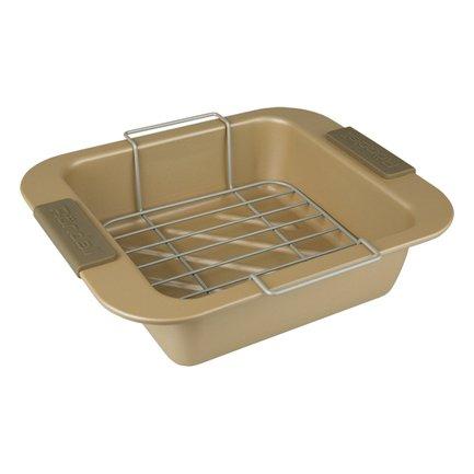 Посуда для запекания Champagnе прямоугольная, 28х23 см, с решеткойФормы для запекания<br><br><br>Серия: Champagnе