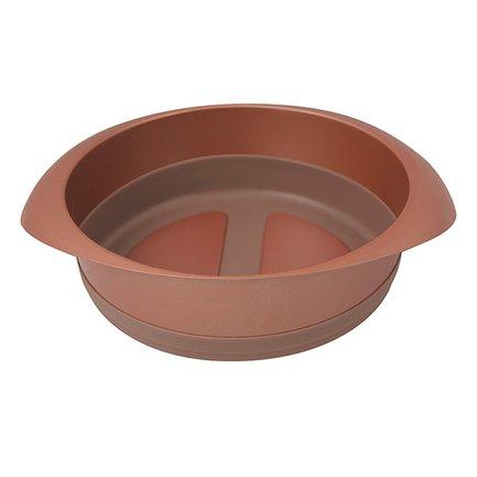 Форма для выпечки Karamelle круглая малая, 18 см, карамельная