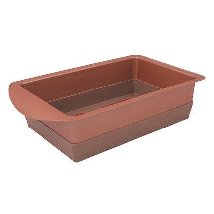 Форма для выпечки Karamelle прямоугольная, 14х22 см, карамельная