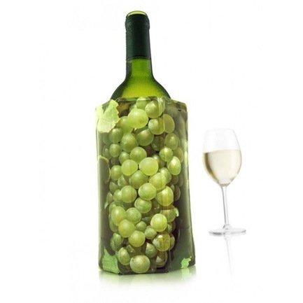 Охладительная рубашка RI Wine Cooler Grapes White для бутылок вина объемом 0.75 л, белый виноградАксессуары для охлаждения напитков<br><br><br>Серия: Active Coolers