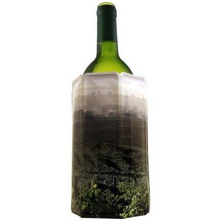 Охладительная рубашка RI Wine Cooler Vineyard для бутылок вина объемом 0.75 л, пейзаж с виноградникомАксессуары для охлаждения напитков<br><br><br>Серия: Active Coolers