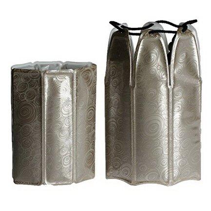 Набор охладительных рубашек RI Wine &amp; Champagne Cooler Platinum для вина и шампанского 0.75 л, платинаАксессуары для охлаждения напитков<br><br><br>Серия: Active Coolers