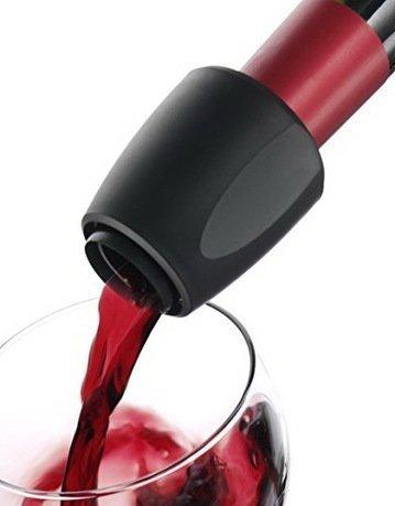 Каплеуловитель Wine Server Black J-Hook B, черныйАэраторы и уловители капель<br><br><br>Серия: VacuVin