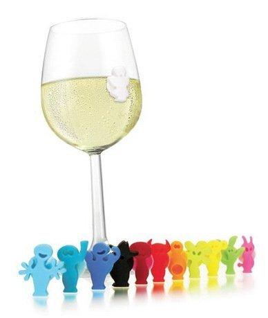 Маркеры для бокалов Веселая вечеринка, 12 шт. от Superposuda