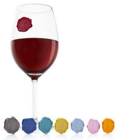 Маркеры для бокалов Классика, 8 шт., новый дизайнМаркеры для бокалов и бутылок<br><br><br>Серия: VacuVin