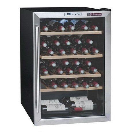Винный шкаф (5-18°C), на 48 бутылок, 4 выдвижные полки из бука от Superposuda