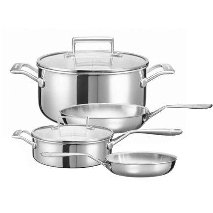 Набор стальной посуды 3 Ply SS