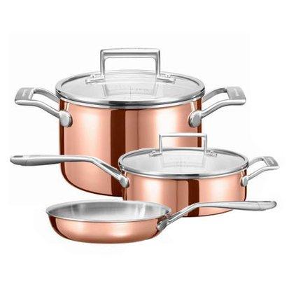 Набор медной посуды 3 Ply Copper