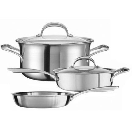 Набор стальной посуды 5 Ply Copper Core