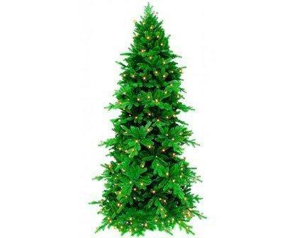 Сосна Изумрудная, 230 см, 256 ламп, зелёнаяИскусственные елки<br><br><br>Серия: Люкс