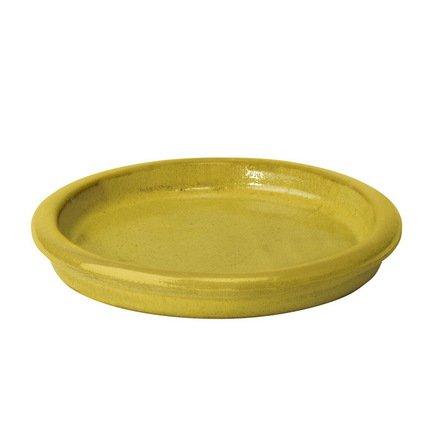 Поддон Deroma Rainbow Giallo, желтый, 31x4 смКашпо<br><br><br>Серия: Deroma Rainbow