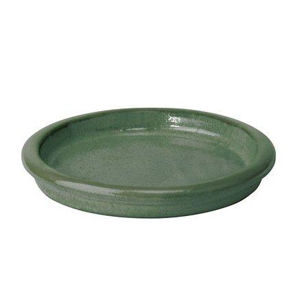 Поддон Deroma Rainbow Verde, зеленый, 25x3 смКашпо<br><br><br>Серия: Deroma Rainbow