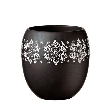 Кашпо Gipsy Vaso Black, черное, 14.5x16 смКашпо<br><br><br>Серия: Gipsy