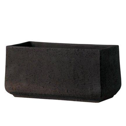 Кашпо Kamari Cassetta, черное, 57x27x28 смКашпо<br><br><br>Серия: Kamari