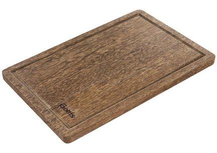 Разделочная доска, 40x25x2 см, из дерева панга-пангаРазделочные доски<br>Надежная и удобная прямоугольная разделочная доска из дерева панга-панга – универсальный вариант для нарезки и измельчения различных продуктов. Ножи не будут быстро тупиться о её поверхность.<br><br>Серия: Разделочные доски Gottis