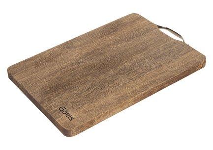 Разделочная доска, 40x30x2 см, из дерева панга-пангаРазделочные доски<br>Надежная и удобная прямоугольная разделочная доска из дерева панга-панга – универсальный вариант для нарезки и измельчения различных продуктов. Ножи не будут быстро тупиться о её поверхность.<br><br>Серия: Разделочные доски Gottis