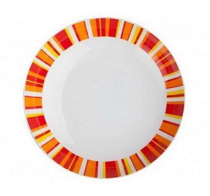 Набор тарелок суповых Фортуна оранж, 19.5 см, 6 шт.Тарелки и Блюдца<br><br><br>Серия: Фортуна оранж