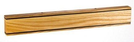 Магнитная планка для ножей из ясеня и термоясеня, коричневая, 45x5x23 смМагнитные держатели, Подставки для ножей<br>Держатель для кухонных ножей - необычный и стильный аксессуар. Он компактен, практичен, удобен и безопасен для хранения ножей из стали. Прикрепить держатель вы сможете в любом подходящем для вас месте.<br><br>Серия: Магнитные планки для ножей Chef