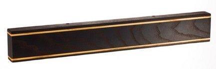 Магнитная планка для ножей из ясеня и термоясеня, черная, 45x5x23 смМагнитные держатели, Подставки для ножей<br>Держатель для кухонных ножей - необычный и стильный аксессуар. Он компактен, практичен, удобен и безопасен для хранения ножей из стали. Прикрепить держатель вы сможете в любом подходящем для вас месте.<br><br>Серия: Магнитные планки для ножей Chef