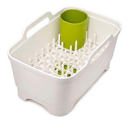 Набор для мойки и сушки посуды, 38х20х25 см, белый, 3 пр.Кухонные аксессуары<br><br><br>Состав: Таз, Сушилка, Подставка для столовых приборов