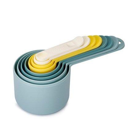 Набор мерных ёмкостей Nest Опал, 7 пр.Мерные емкости и аксессуары<br><br><br>Серия: Nest<br>Состав: Мерная ёмкость объемом 1/4 чайной ложки, Мерная ёмкость объемом 1/2 чайной ложки, Мерная ёмкость объемом 1 чайная ложка, Мерная ёмкость объемом 1/4 стакана, Мерная ёмкость объемом 1/3 стакана, Мер...