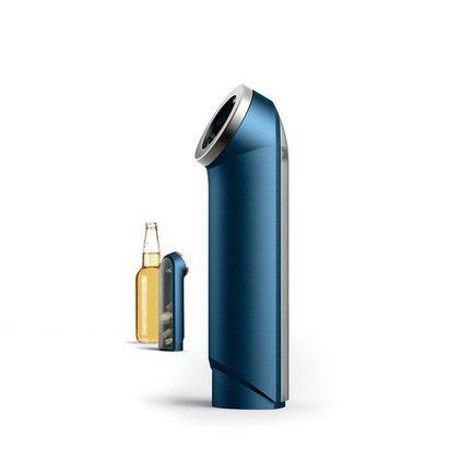 Открывалка для пивных бутылок BarWise с контейнером для крышек, 16.2х4.7 см