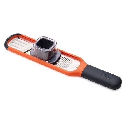 Терка и слайсер 2-в-1 Handi-Grate, 29 см, оранжеваяТерки и Слайсеры<br><br>