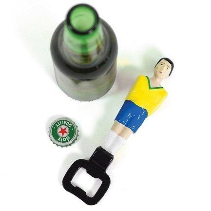 Открыватель для бутылок Football, 16.5 см, желтый
