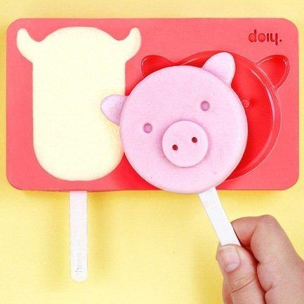 Форма для мороженого Zoo farm, 16х3х12 смИнструмент для мороженого и фруктов<br><br><br>Серия: Zoo