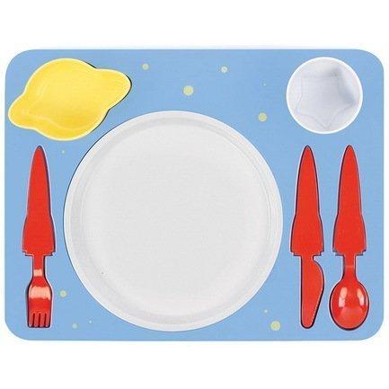 Поднос-сервиз для ребенка Space, 35х26х8.5 см Doiy DYDINNESP