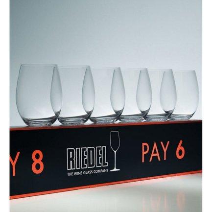 Набор фужеров Celebration Pack O Riesling/Zinfandel (375 мл), 10.8x7.9 см, 6 шт.Бокалы для белого вина<br><br><br>Серия: Celebration Pack