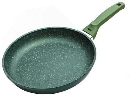 Литая сковорода Dr.Green, 32 смСковороды<br>Отличная алюминиевая сковорода с высококачественным антипригарным покрытием станет незаменимой помощницей на вашей кухне. В ней отлично получаются вкусные и полезные блюда из мяса, рыбы, овощей: ведь для их приготовления требуется всего лишь капелька масла. Сковорода имеет удобную ручку, которая не нагревается и позволяет легко переместить даже полную сковороду.<br><br>Серия: Dr.Green