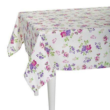 Скатерть с рисунком Purple Garden, 140х220 см, полухлопок, мультиколорСкатерти<br><br><br>Серия: Кантри